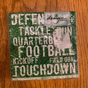 NWT Football 🏈 Field Party Beverage Napkins